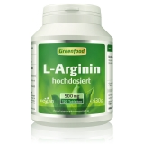 L-Arginin, 500mg 120 Tabletten