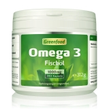 Omega 3 Fischöl, 1000 mg 240 Kapseln