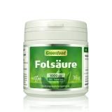 Folsäure, 1000 µg 180 Tabletten