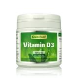 Vitamin D3, 1000 IE vegan 180 Tabletten