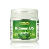 Vitamin B5, 100 mg 180 Tabletten