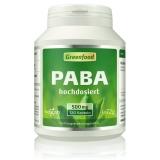 PABA, 500 mg 120 Kapseln
