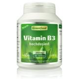 Vitamin B3, 250 mg 180 Tabletten