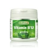 Vitamin B12, 5000 µg 180 Tabletten