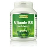 Vitamin B5, 500 mg 120 Kapseln