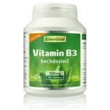 Vitamin B3, 500mg 180 Tabletten