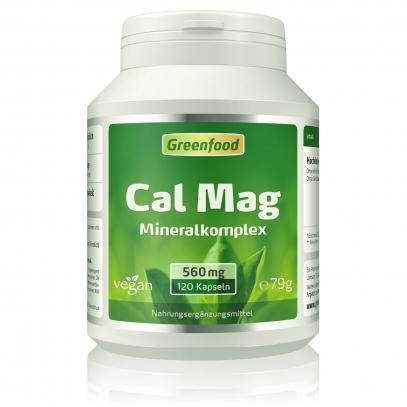 Calcium + Magnesium 120 Kapseln