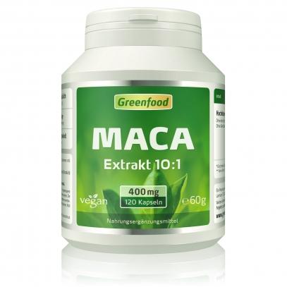 Maca, 400 mg 120 Kapseln