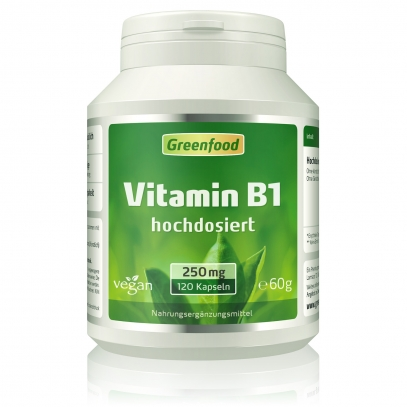 Vitamin B1, 250mg 120 Kapseln