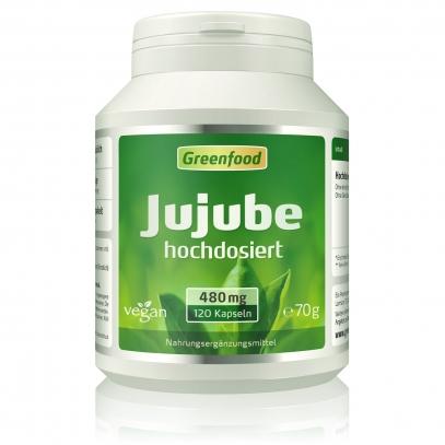 Jujube, 500 mg 120 Kapseln
