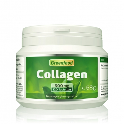 Collagen, 500 mg 120 Tabletten