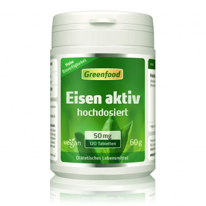 Eisen aktiv, 50 mg 120 Tabletten