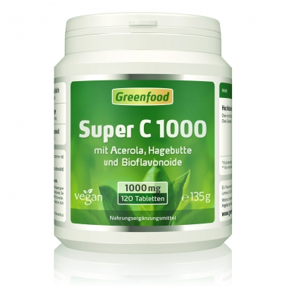Super C, 1000mg 120 Tabletten