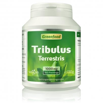 Tribulus Terrestris, 1000 mg 100 Tabletten