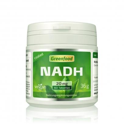 NADH, 20 mg 60 Tabletten