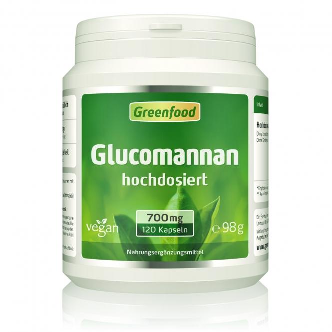 Glucomannan 700 mg 120 Kapseln