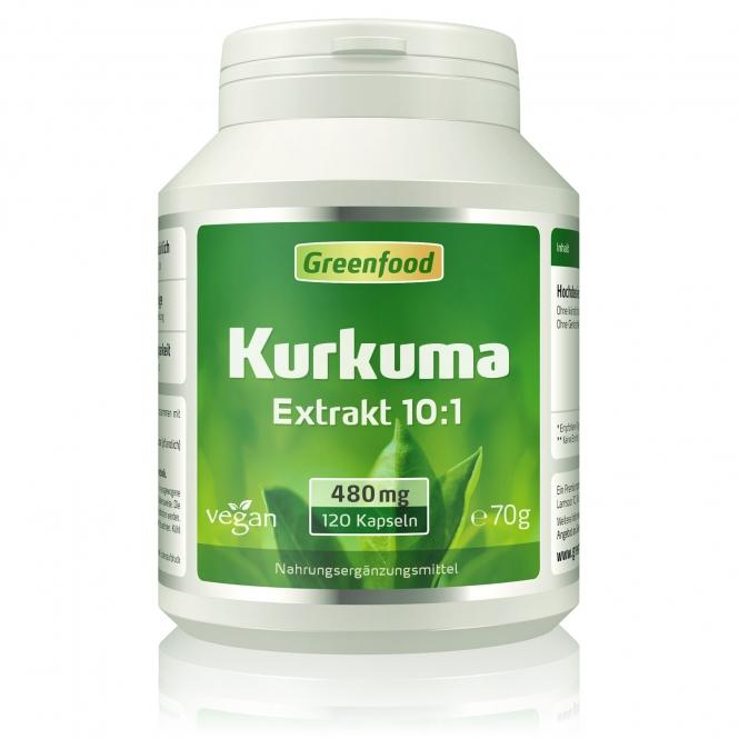 Kurkuma (35% Curcumin) 120 Kapseln