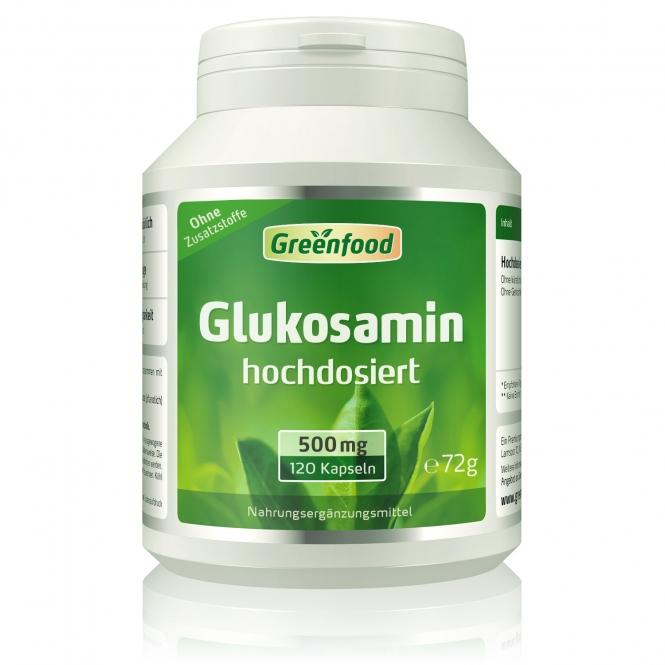 Glucosamin, 500mg 120 Kapseln