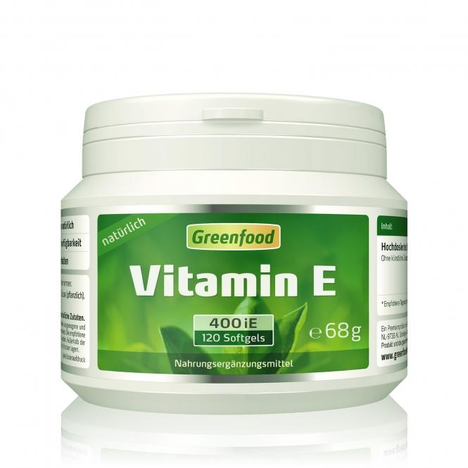 Vitamin E, 400 iE 120 Kapseln