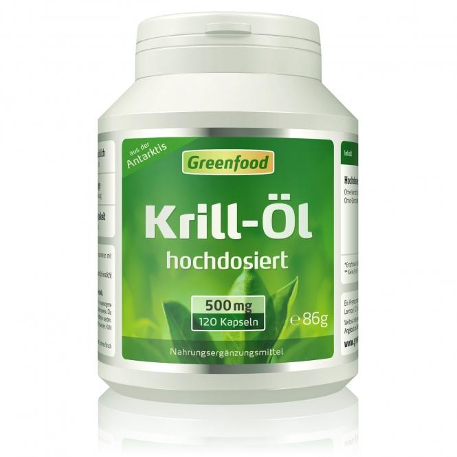 Krill-Öl, 500 mg 120 Kapseln