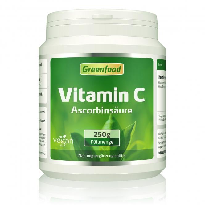 Vitamin C, Pulver 250 Gramm