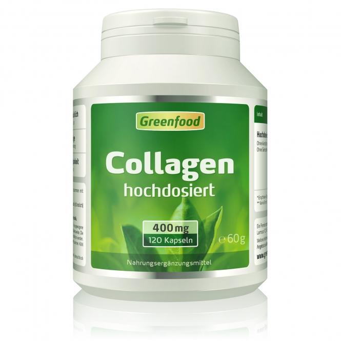 Collagen, 400 mg 120 Kapseln