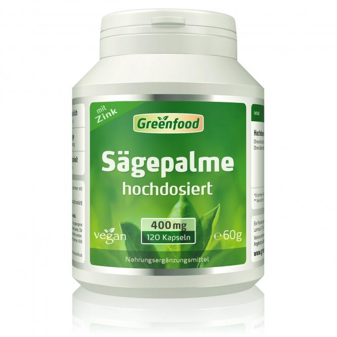 Sägepalme, 400 mg 120 Vegi-Kapseln