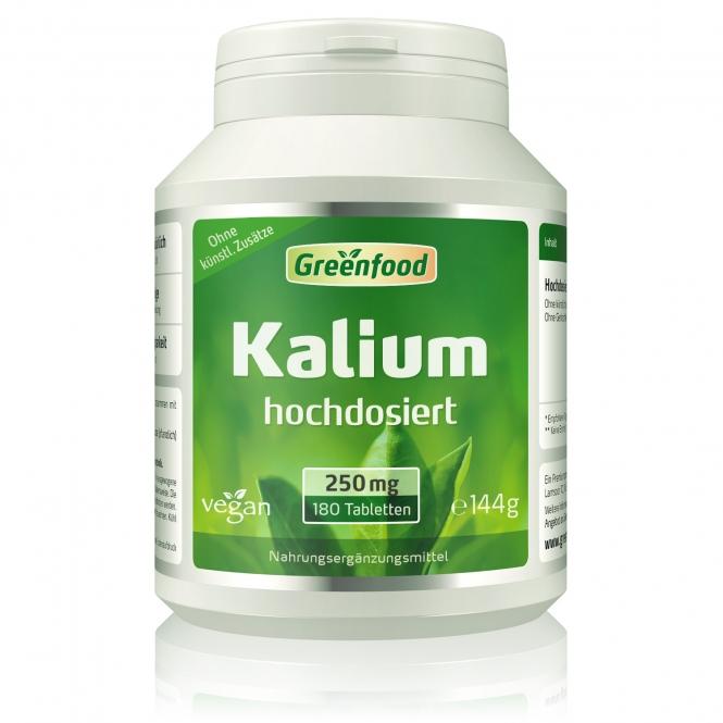 Kalium, 250mg 120 Tabletten